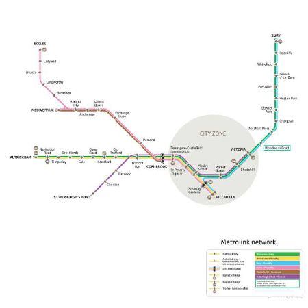 Charting success Is alternative Metrolink route map clearer than